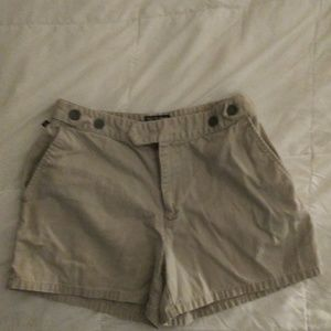 RALPH LAUREN khaki short shorts. Like new!